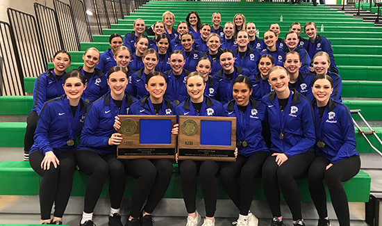 Dance Team Wins Section Championships
