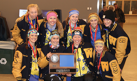 Girls' Nordic Ski places 2nd at Sections