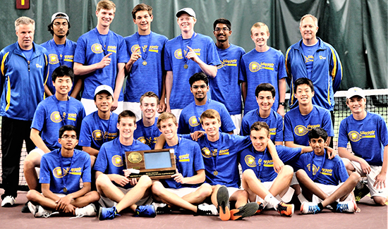 Boys' Tennis Wins Section Championship