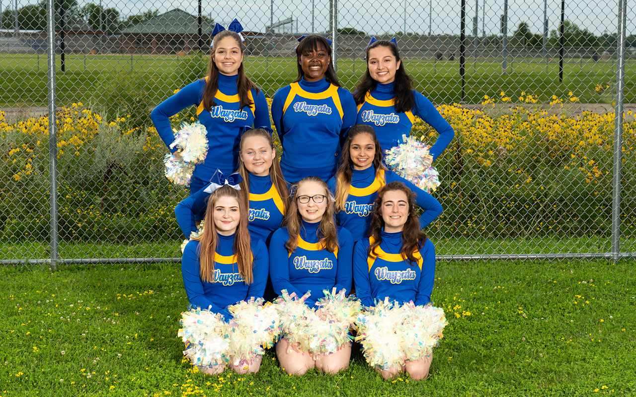2019 Cheer Team Fall Team Photo