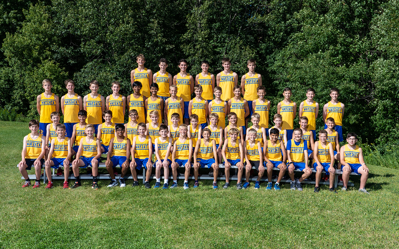 Boys' Cross Country Middle School Photo