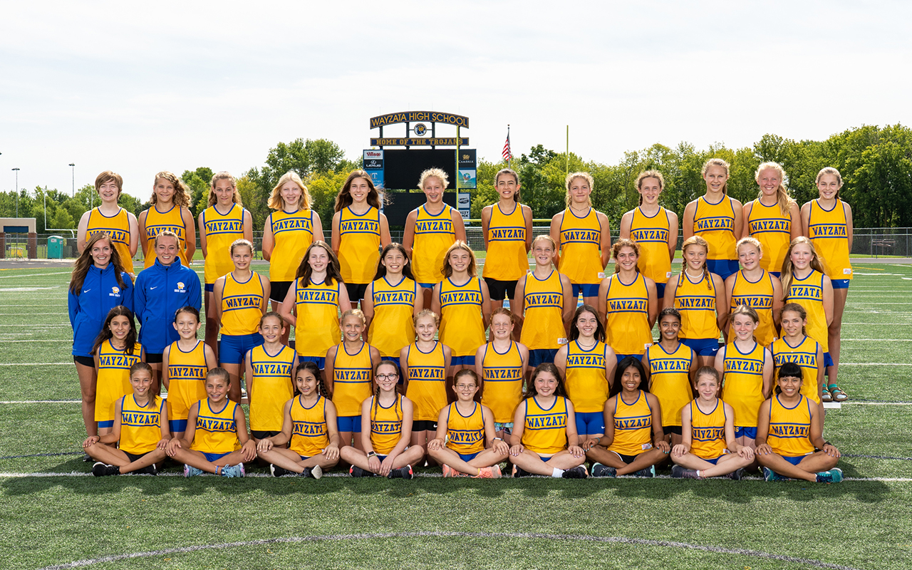 2019 Girls Cross Country Middle School Photo