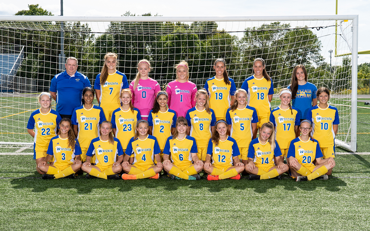 2019 Soccer Girls Jv Team Photo
