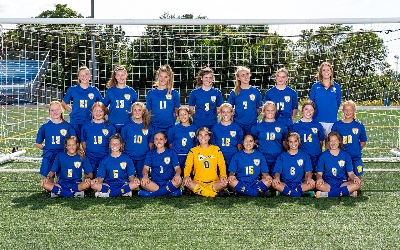 2019 Soccer Girls Tenth Team Photo