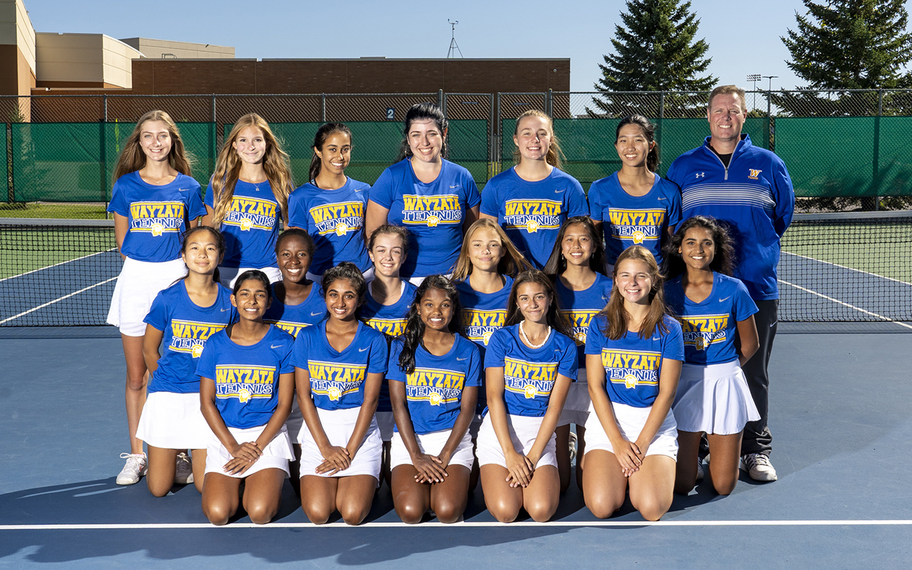 Girls Tennis JV Team Photo