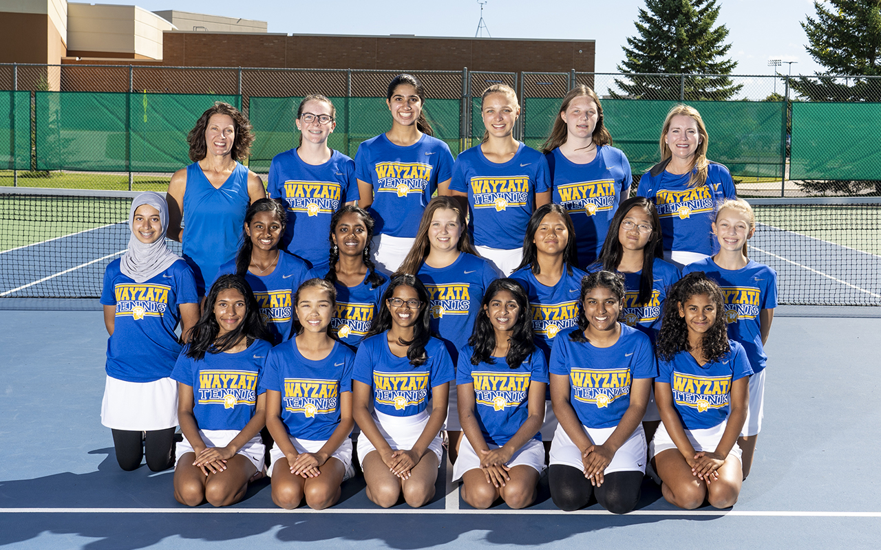 Girls' Tennis 9th Grade Team Photo