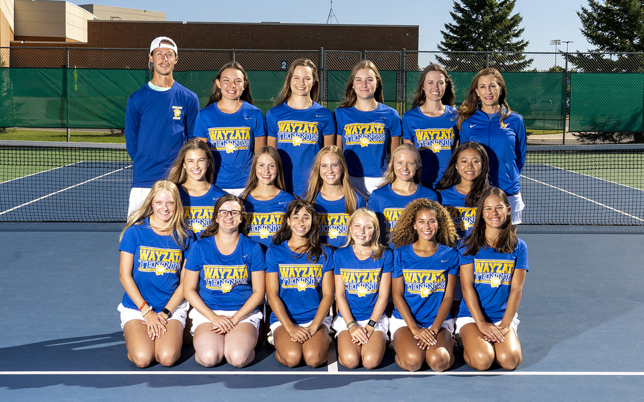Team photo of 2019 Girls Tennis
