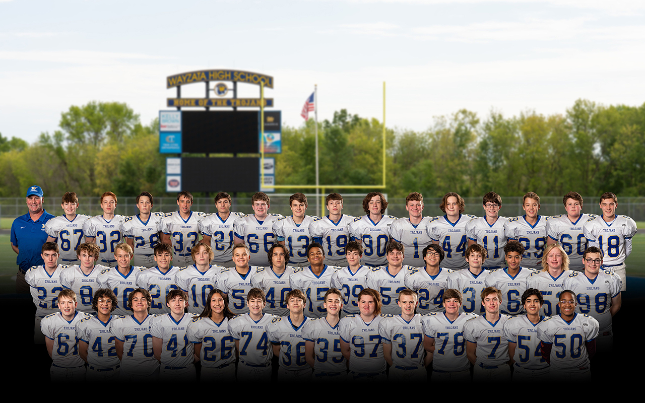 Football Ninth Grade Team Photo