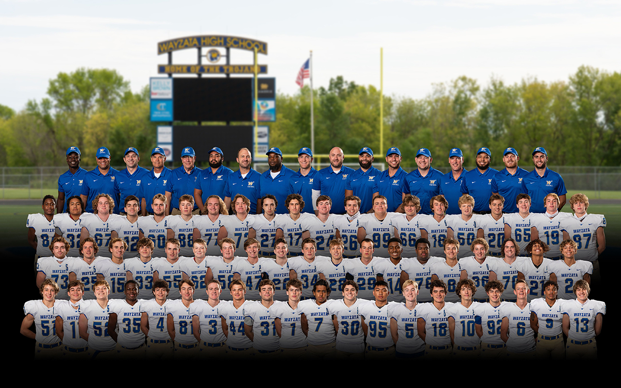 Football Varsity Team Photo