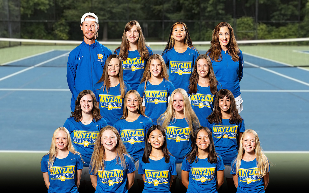 Team photo of Girls Tennis