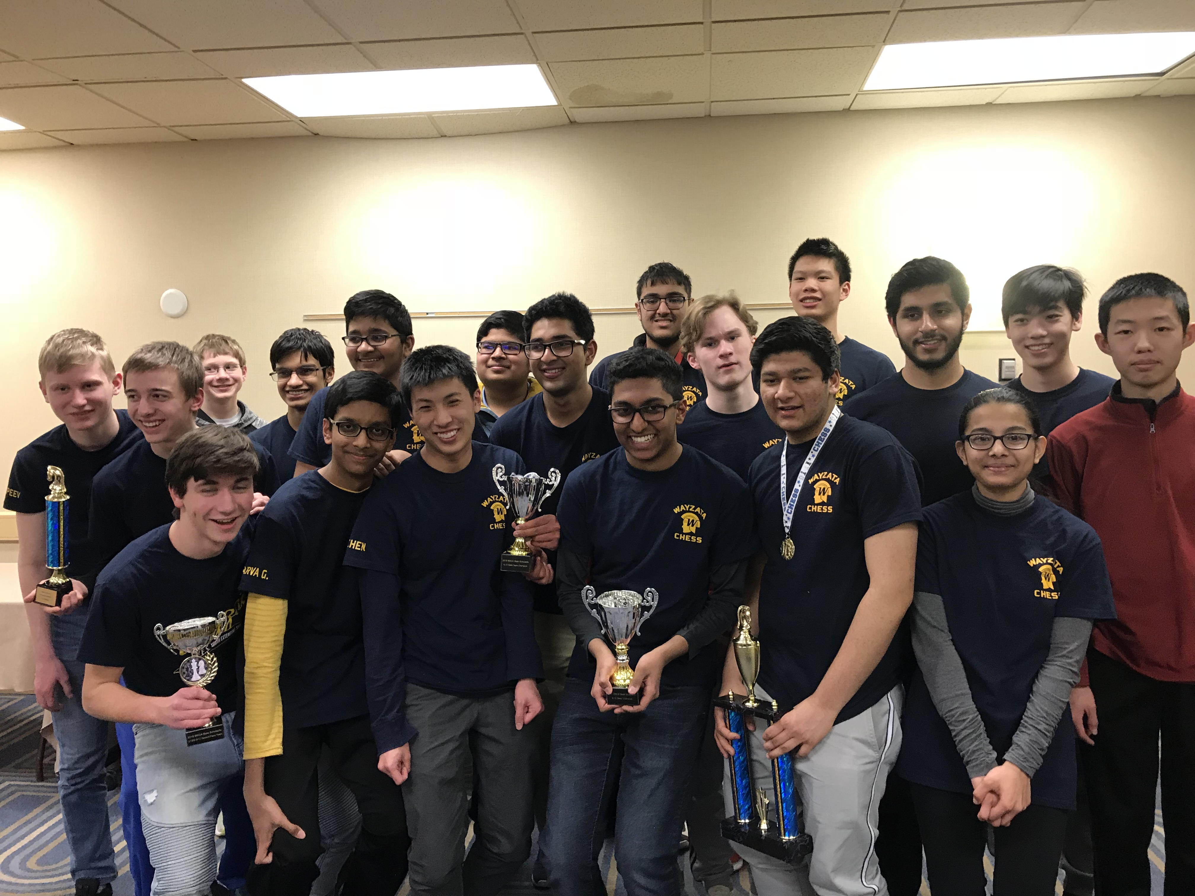 Chess Team Wins State Championship