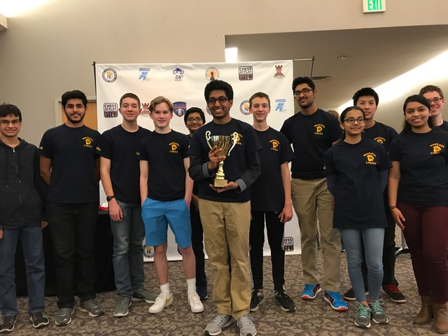 Congratulations to WHS Chess Team on winning the Minnesota state K-12 team champion title!