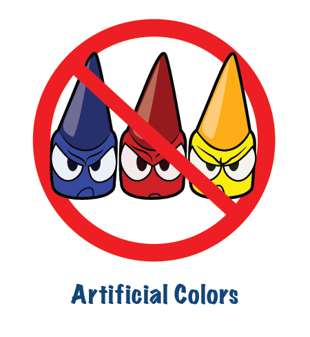 Our Commitment: Reducing Artificial Colors