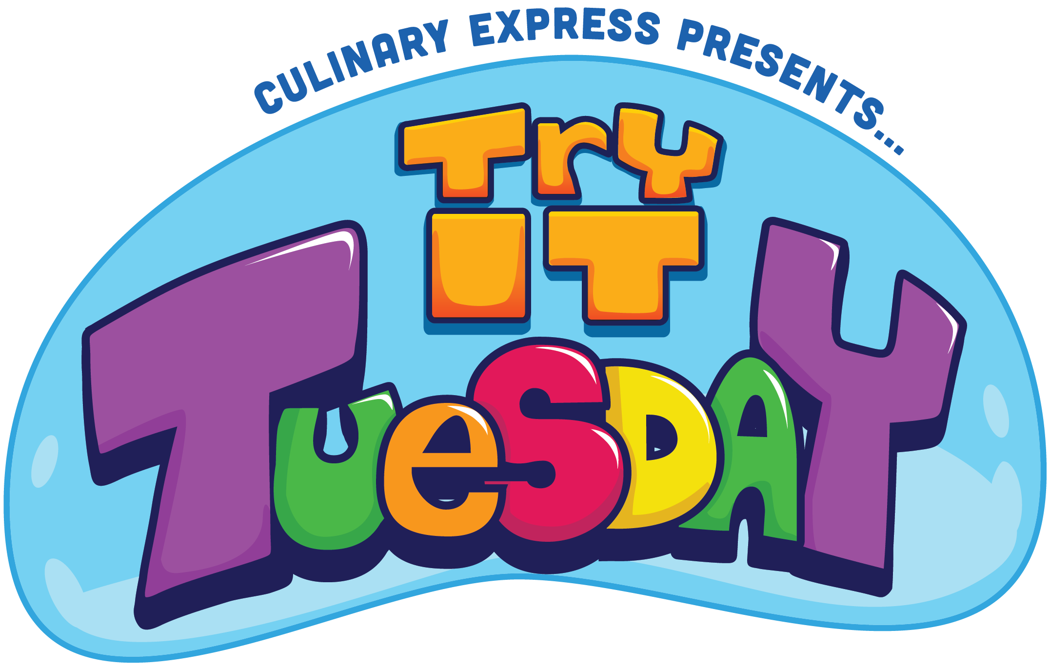 Culinary Express Presents Try it Tuesdays Logo