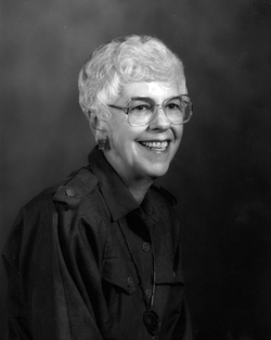 Distinguished Alumni: Marilyn Peterson, Graduated 1949, Inducted 1991