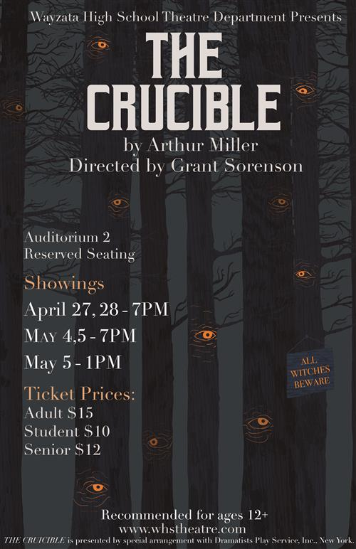 WHS Theatre: The Crucible