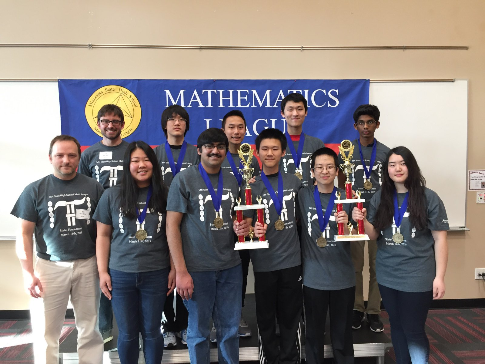 WHS Math Team Wins First Place at State!