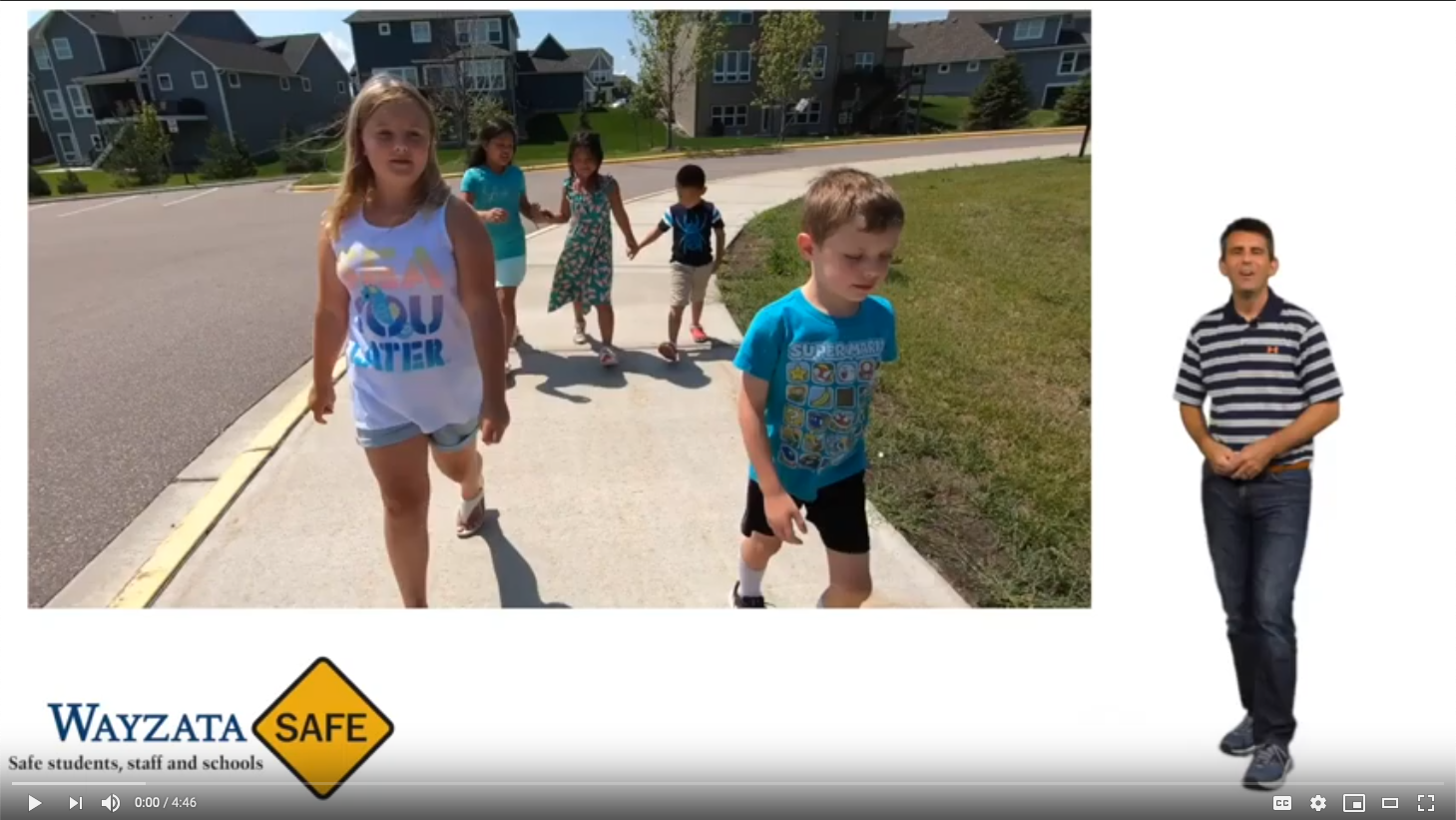 Bus Safety in Wayzata Public Schools video on YouTube