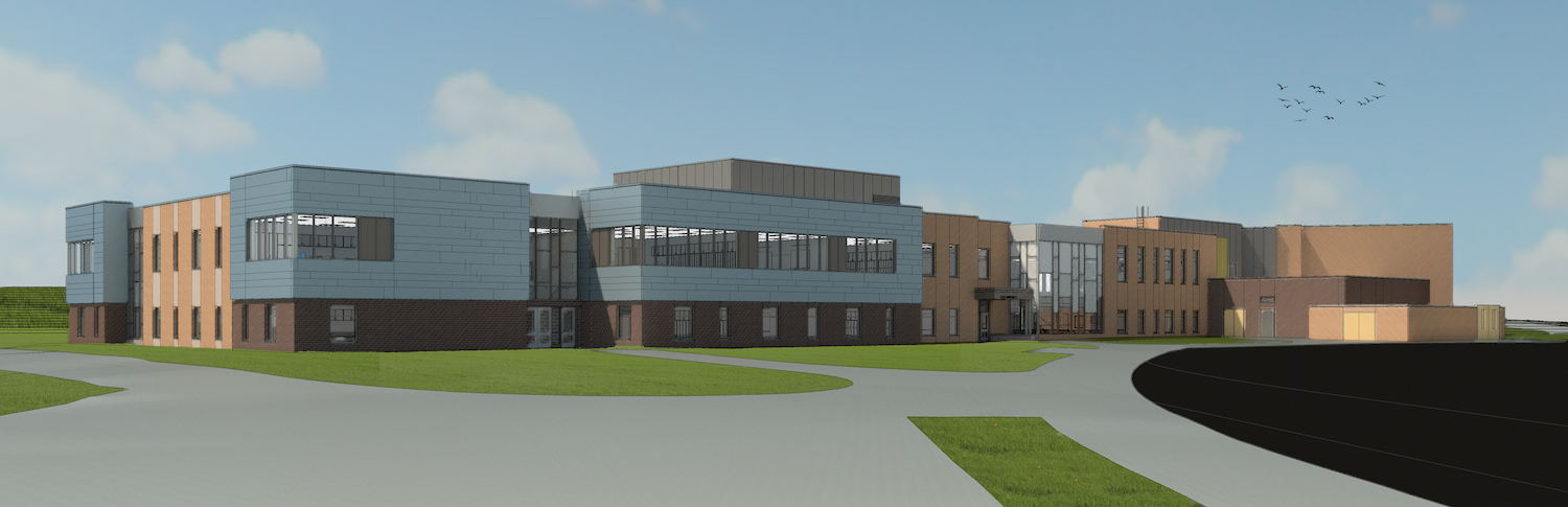 New Elementary School 9 - Lower Entry View