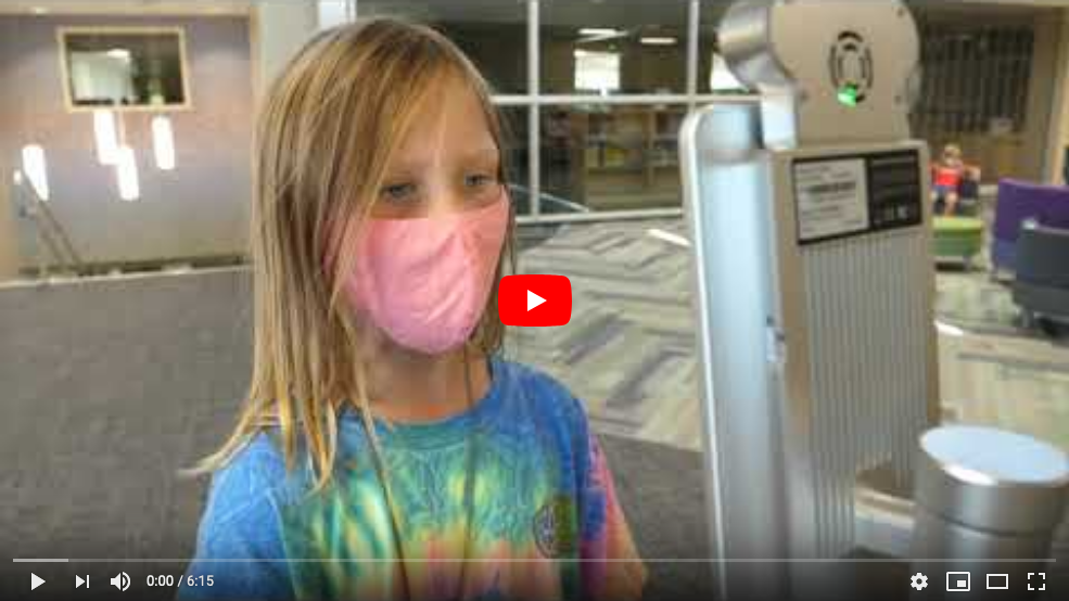 Staying Safe at School video